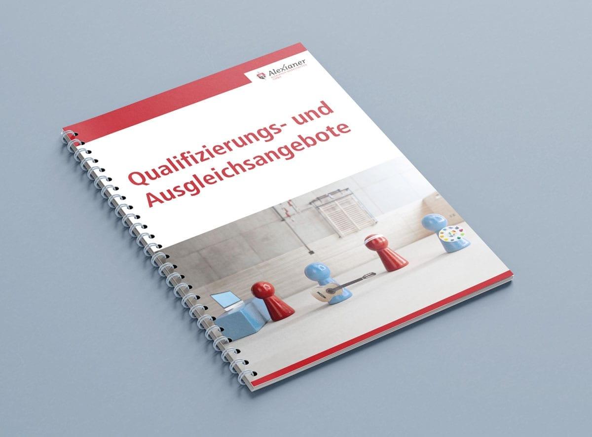 Broschüre zu den Ausgleichs- und Qualifizierungsangeboten