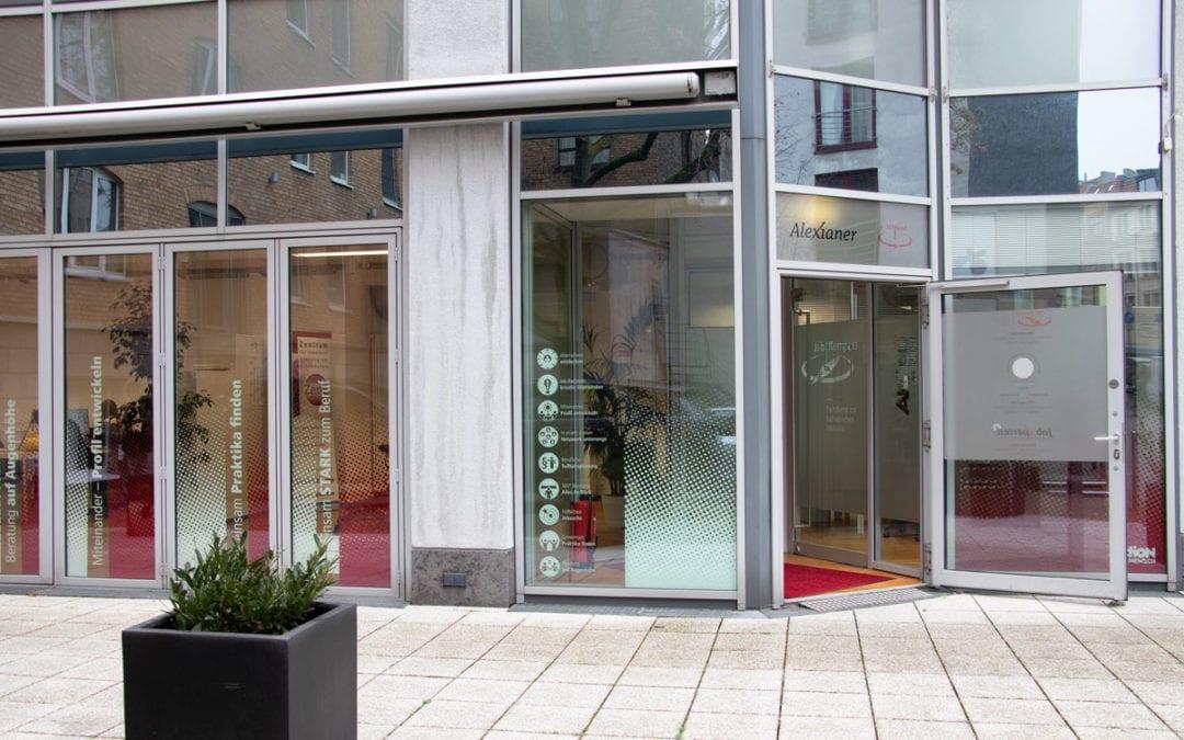 Eingangshalle der Beratungsstelle Alexianer 360°