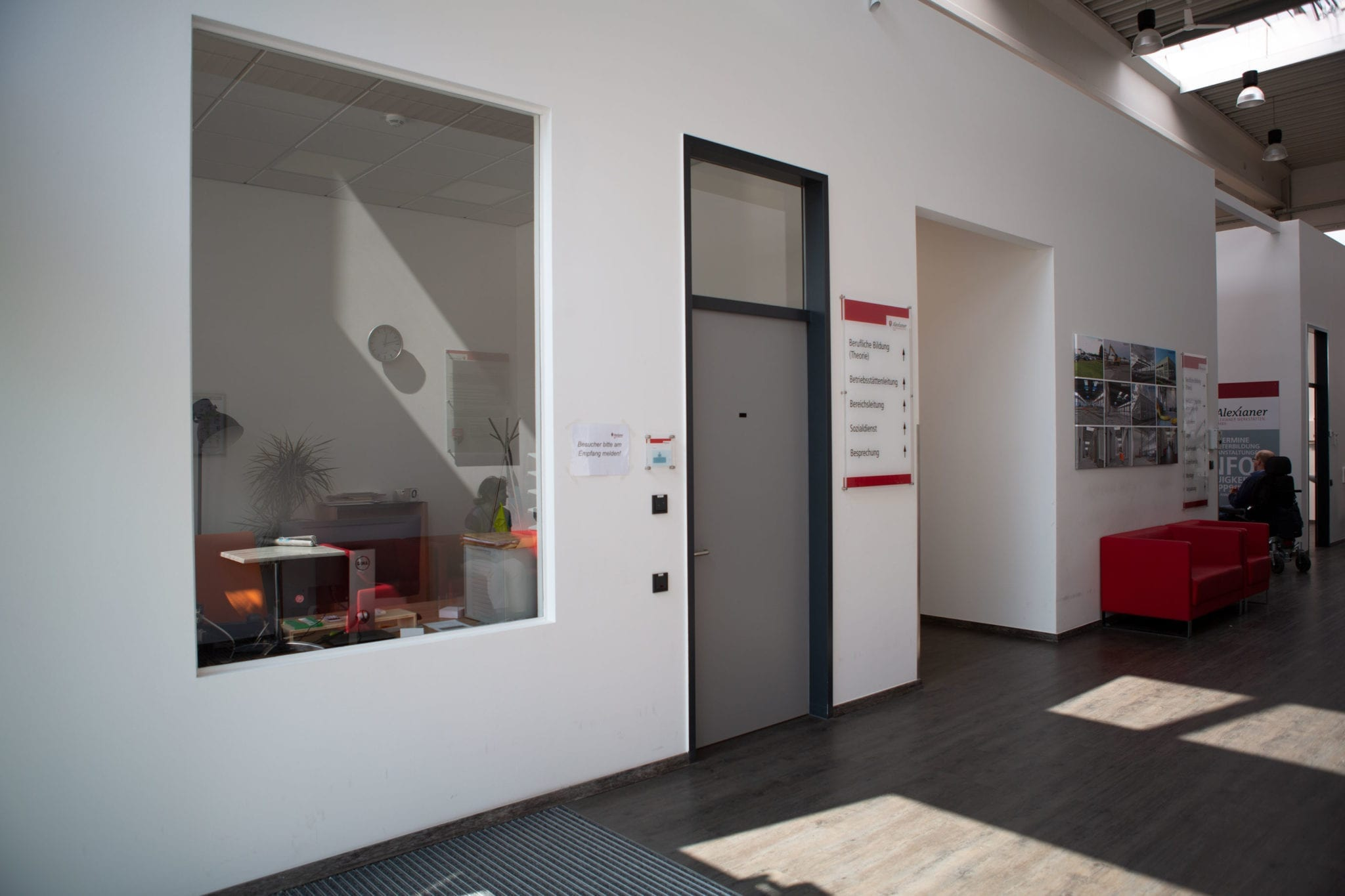 Eingangshalle in einem Gebäude