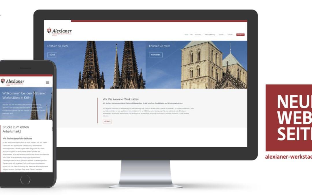 Website-Relaunch der Alexianer Werkstätten GmbH