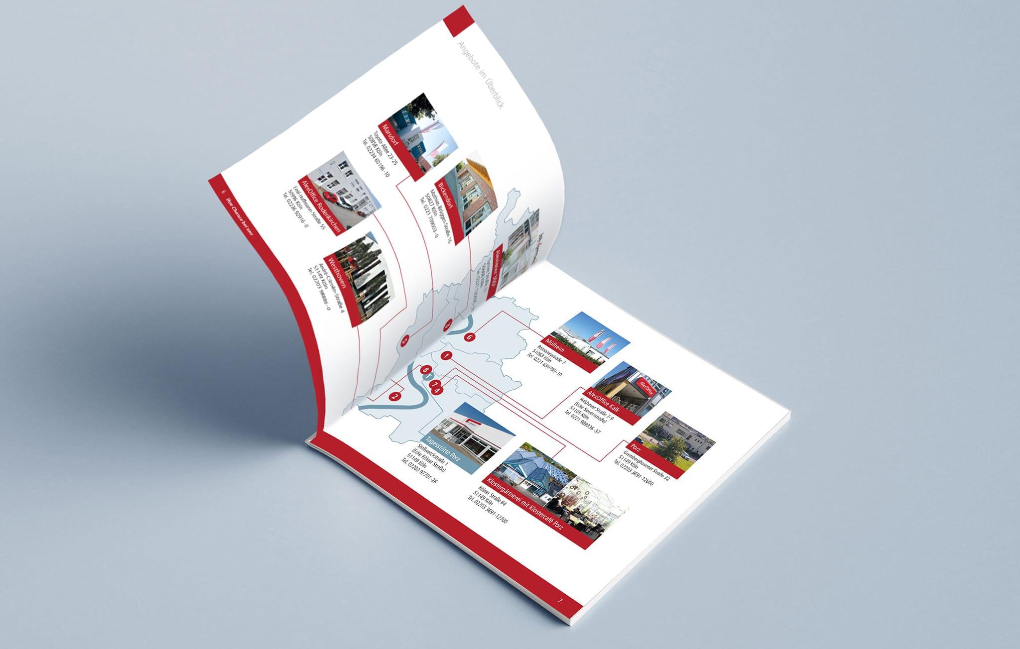 Broschüre der Alexianer Werkstätten Köln