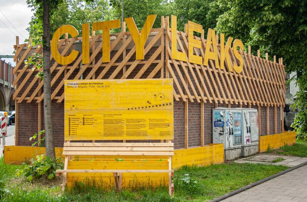 """""""Simul et singulis"""" – Alexianer Klostergärtnerei unterstützt das CityLeaks Urban Art Festival 2021"""