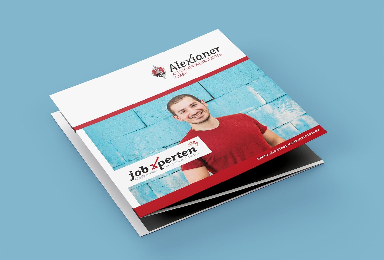 JobXperten Flyer für Teilnehmer*innen