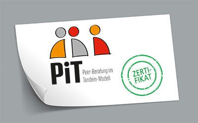 """""""Partnerschaftlicher Austausch, Partizipation und Haltung"""" – Erfolgreicher Abschluss der Pilotphase des Projekts """"Peer-Beratung im Tandem-Modell (PiT)"""""""