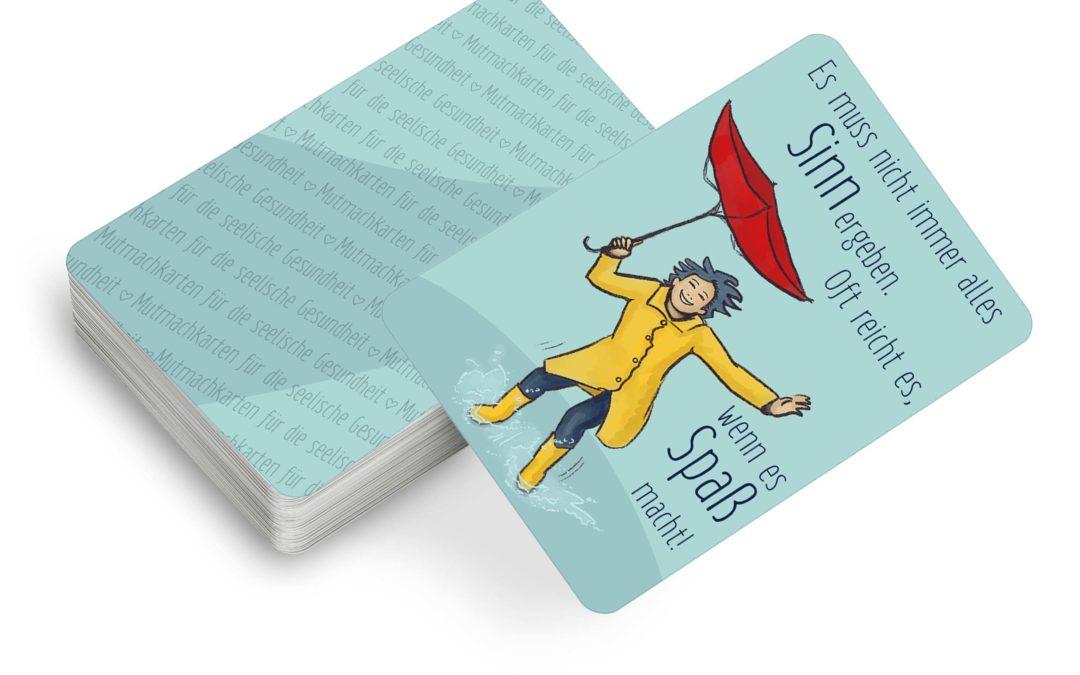 Mutmach-Karten für die Seelische Gesundheit