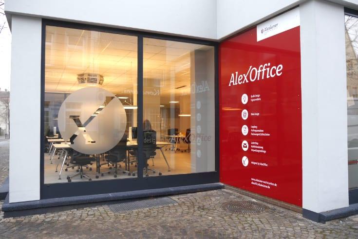 Das AlexOffice Gebäude in Telgte.