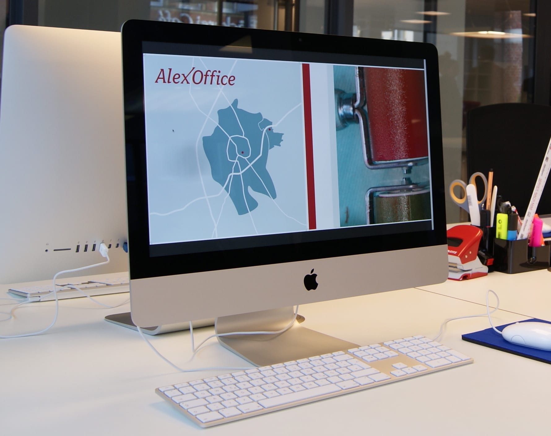 Innenansicht des AlexOffice in Köln