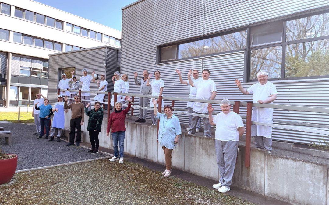Das Bäckerei-Team der Alexianer Werkstätten.