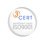 Zertifikat der 3CERT GmbH