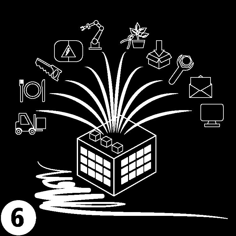 Grafik, welche den Umfang der Werkstatt-Einrichtungen darstellt